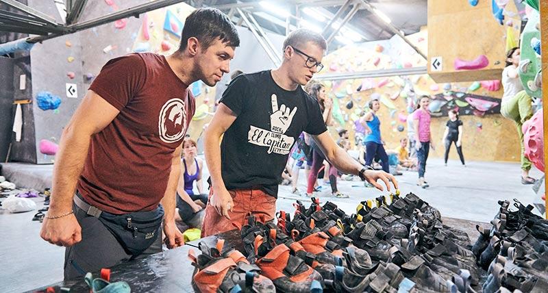 скальные туфли для скалолазания